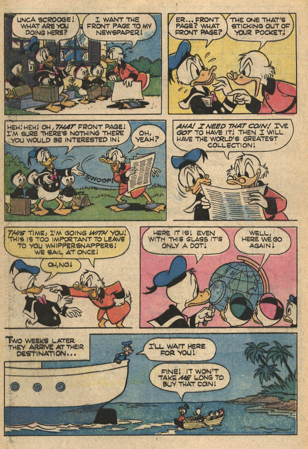 Uncle Scrooge (1953) Issue #164 #164 - English 28