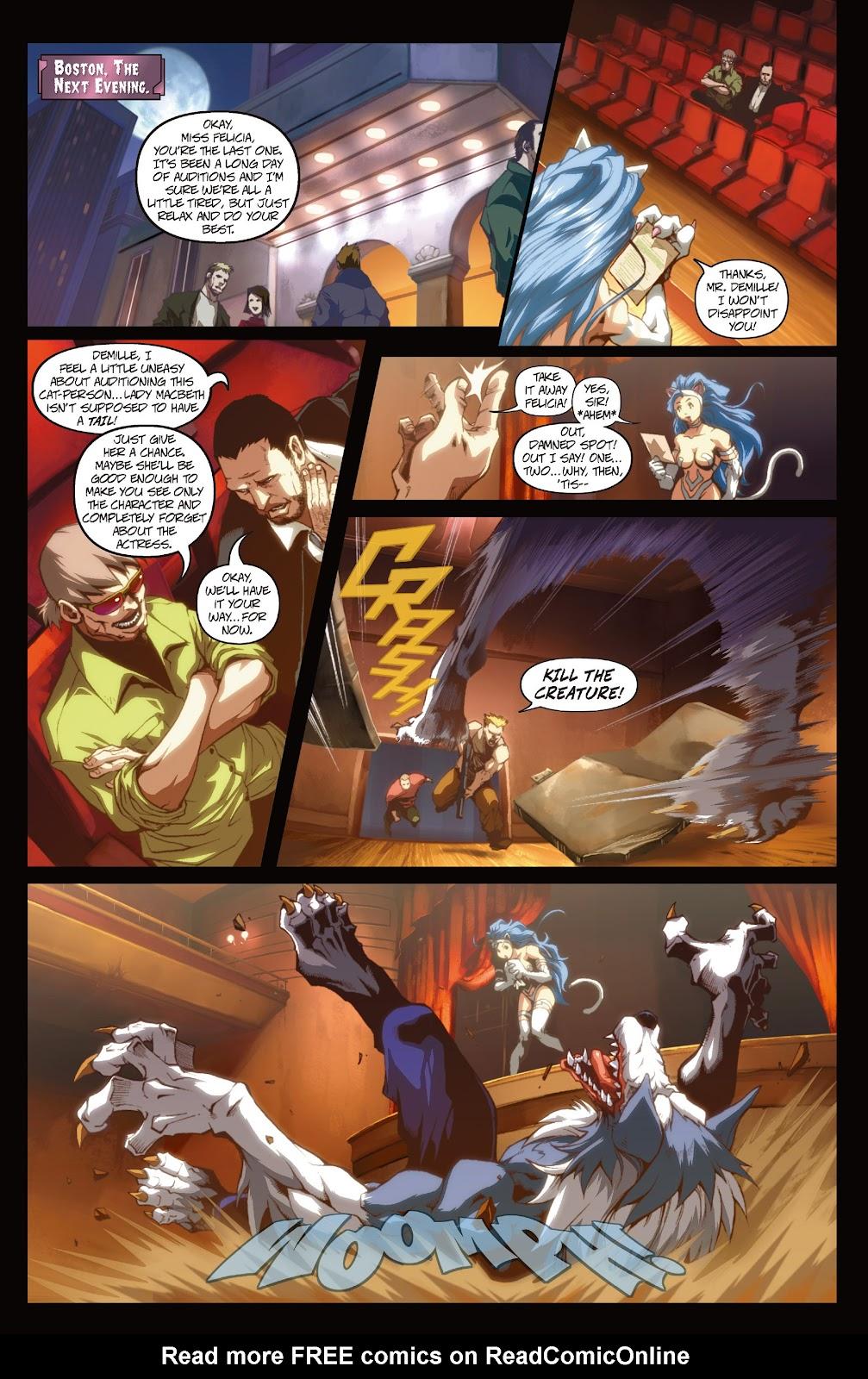 Darkstalkers Issue #3 #4 - English 11