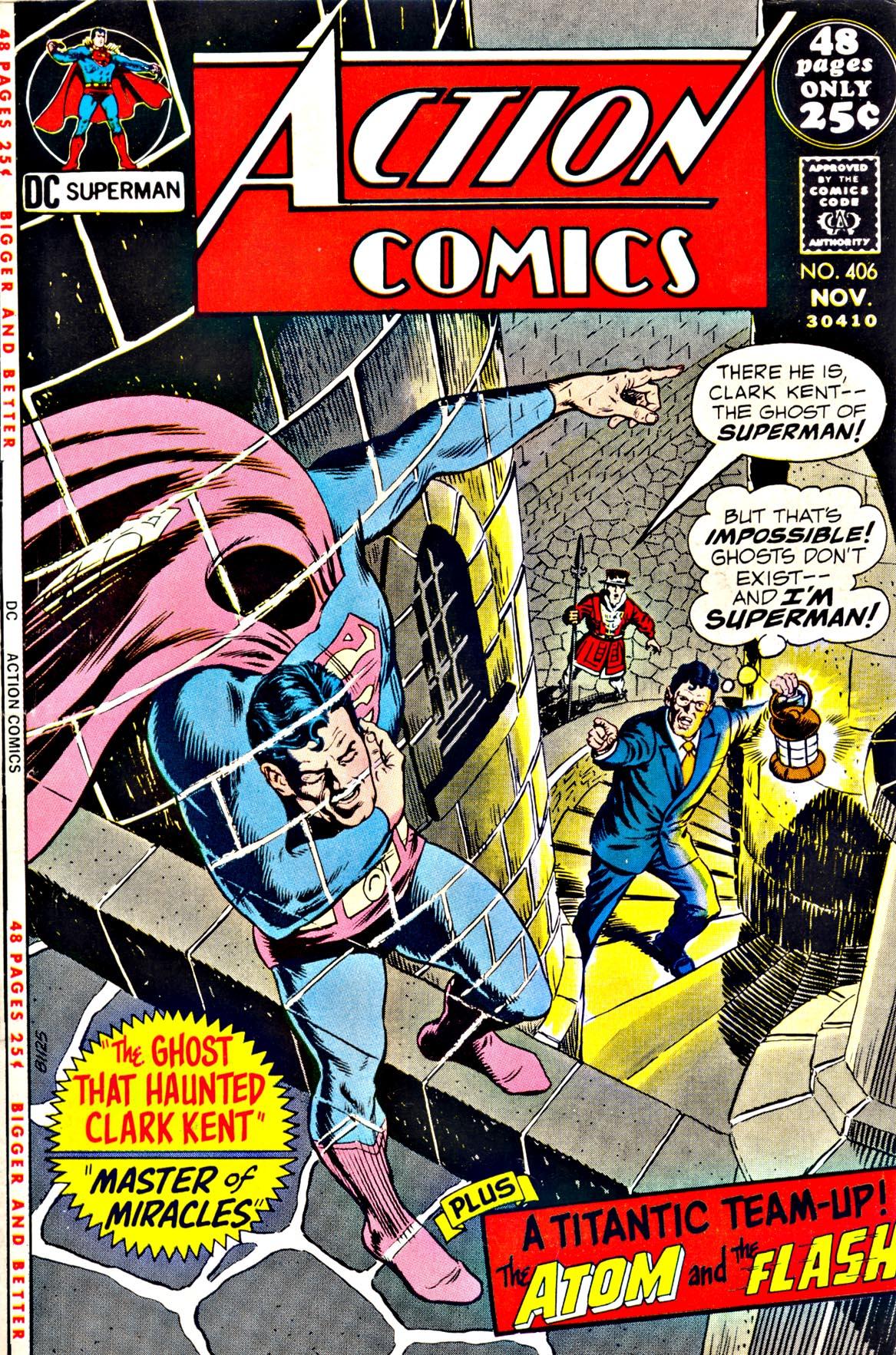 Action Comics (1938) 406 Page 1