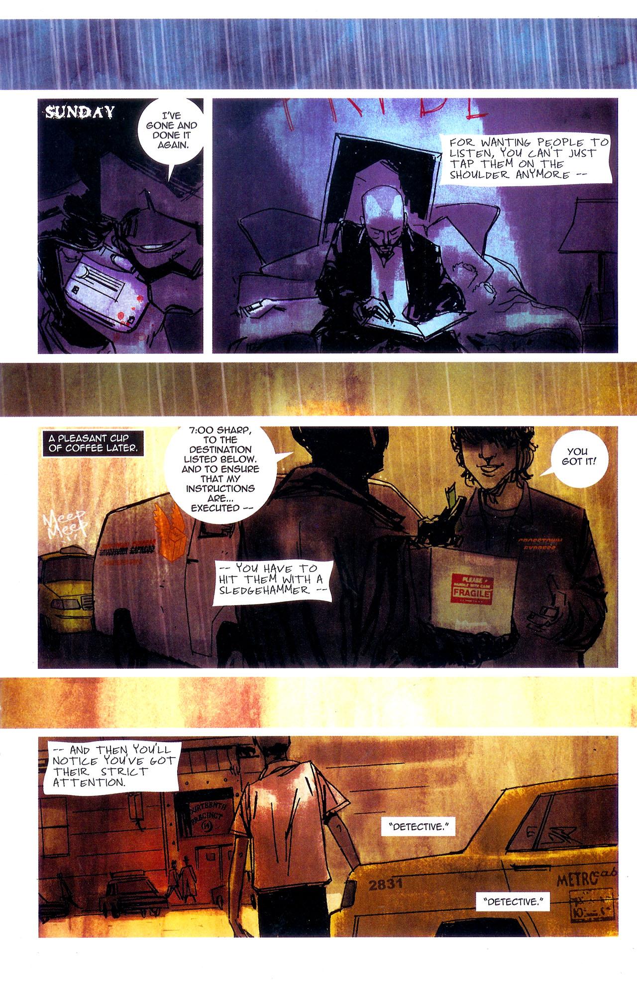 Read online Se7en comic -  Issue #7 - 9
