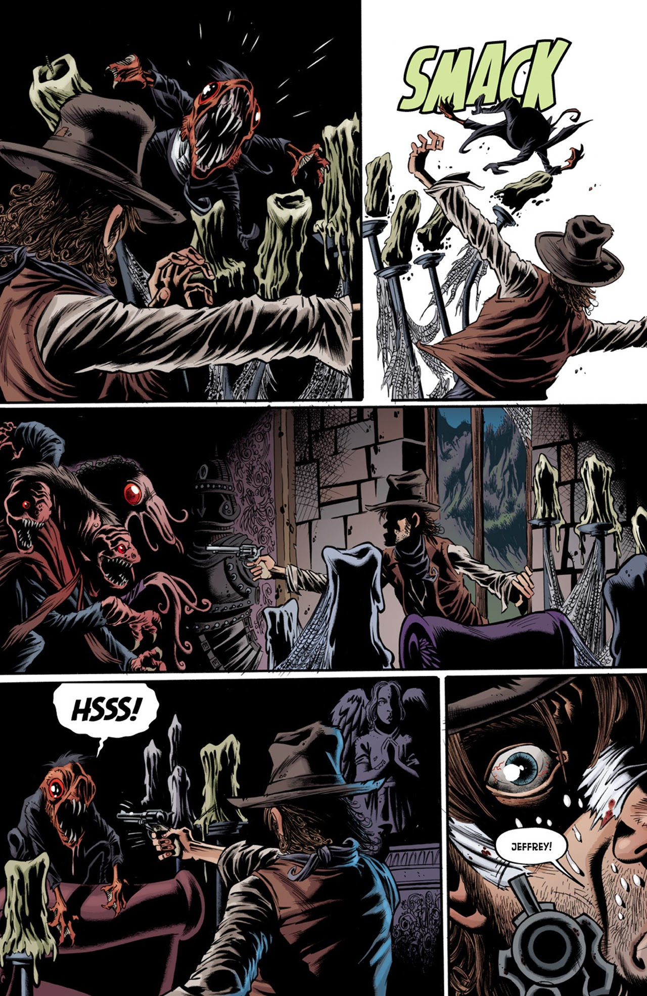 Read online Billy the Kid's Old Timey Oddities and the Orm of Loch Ness comic -  Issue #3 - 10