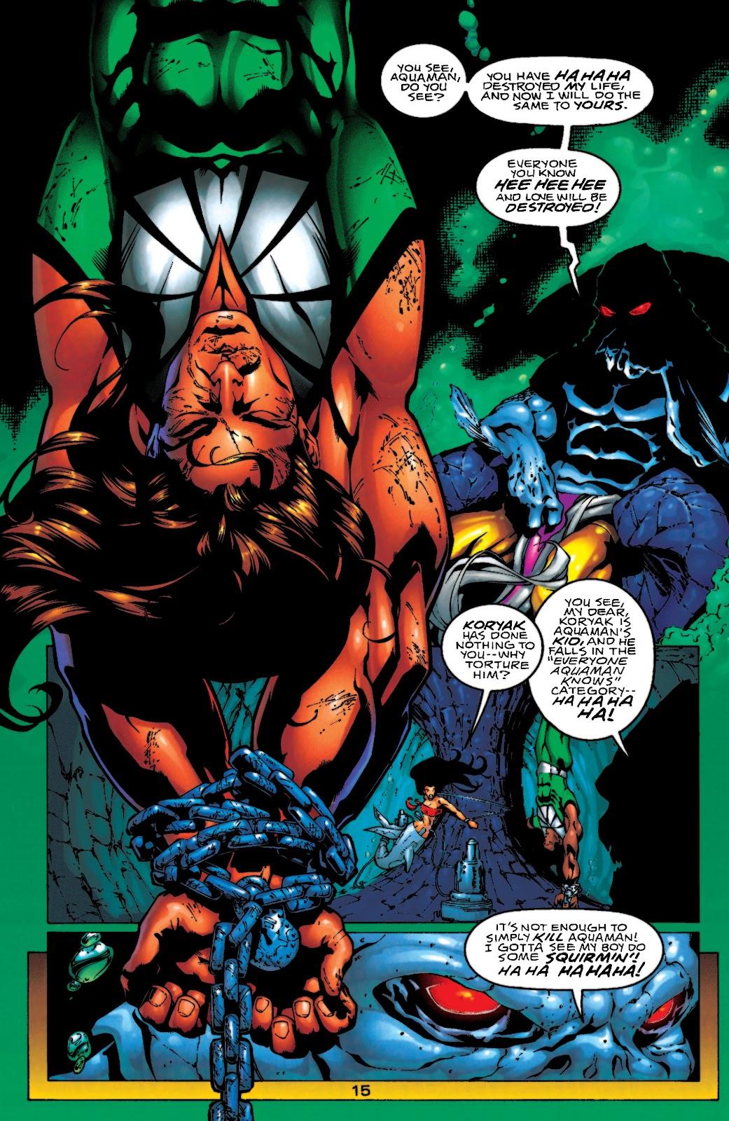 Aquaman (1994) Issue #55 #61 - English 16