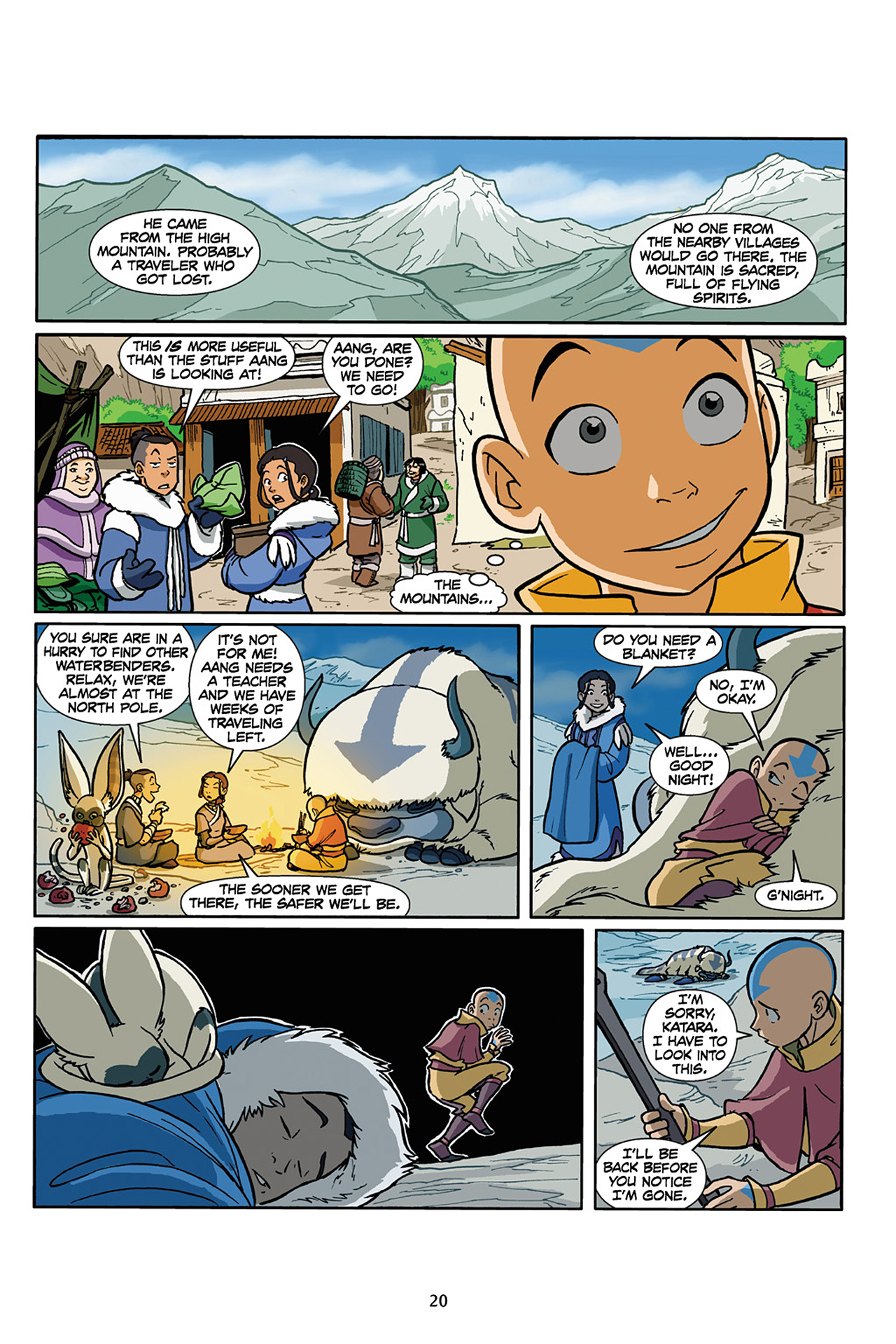 Nickelodeon Avatar: The Last Airbender - The Lost Adventures chap full pic 21