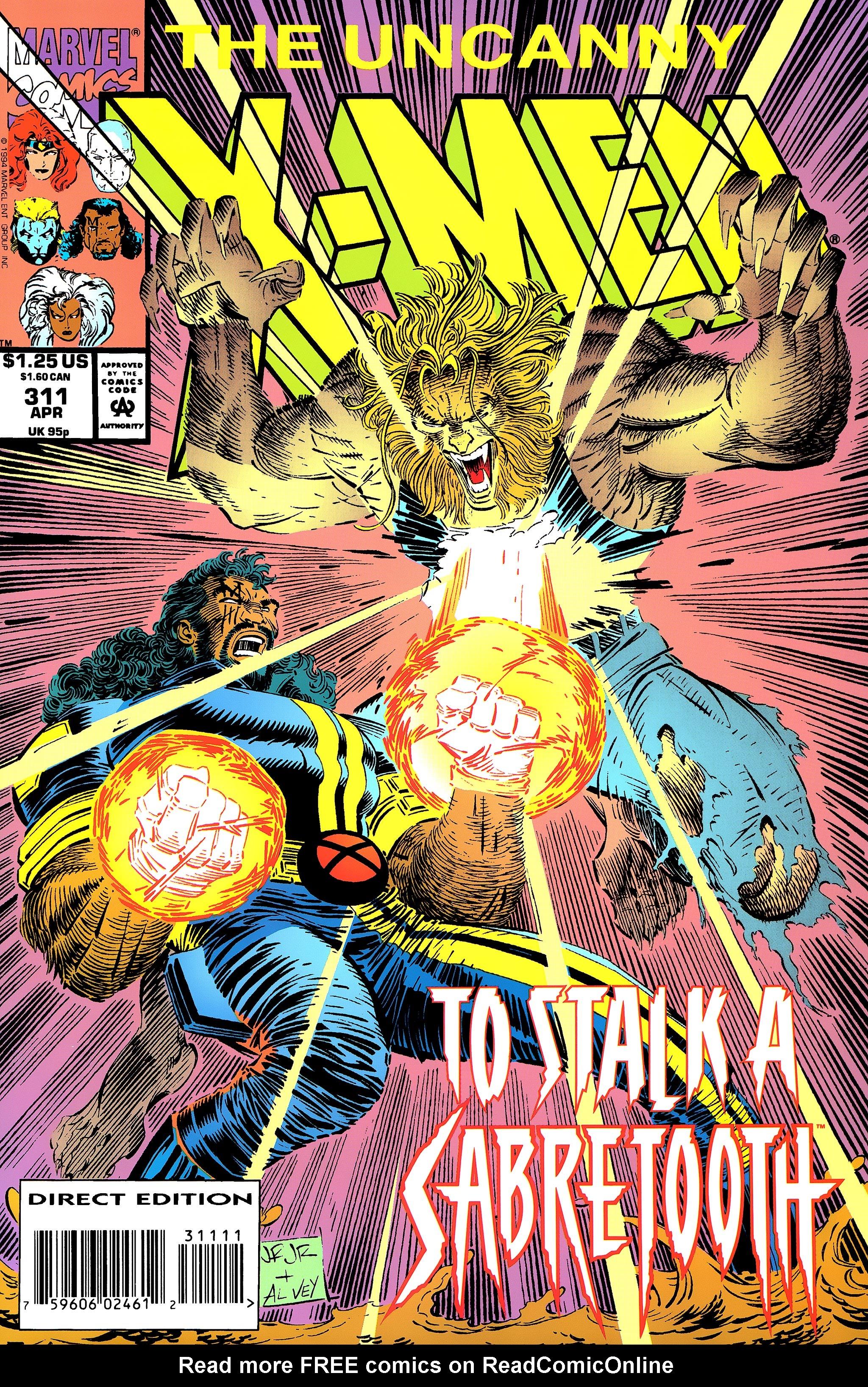 Uncanny X-Men (1963) 311 Page 1