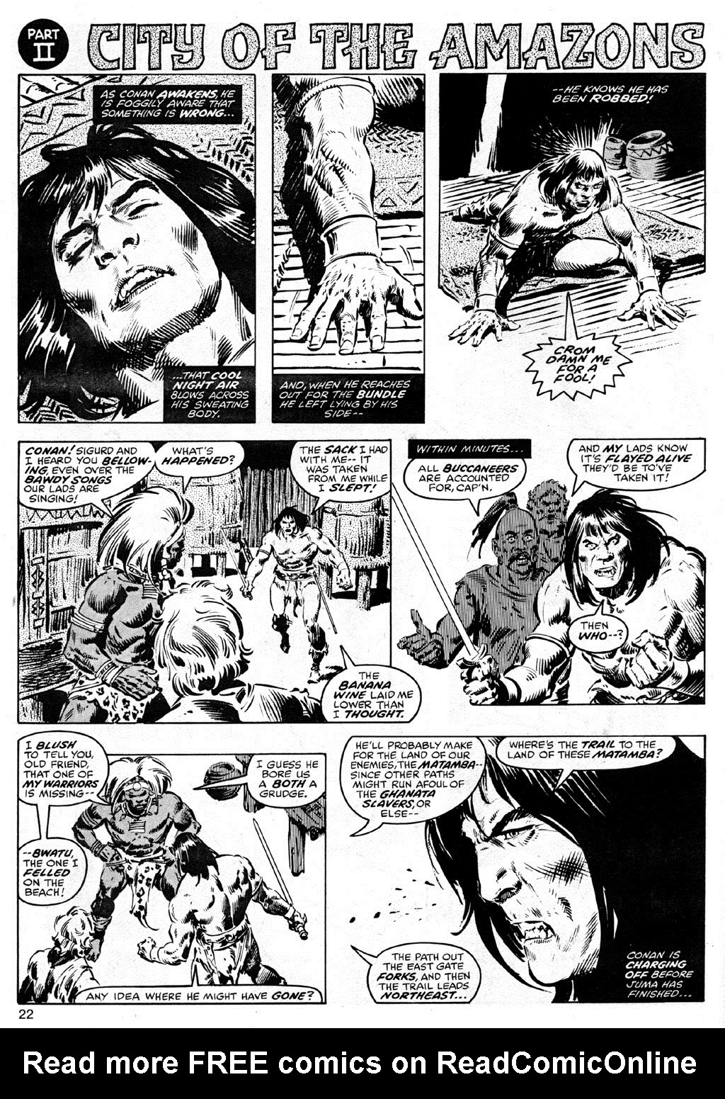 The Savage Sword Of Conan Issue #41 #42 - English 22