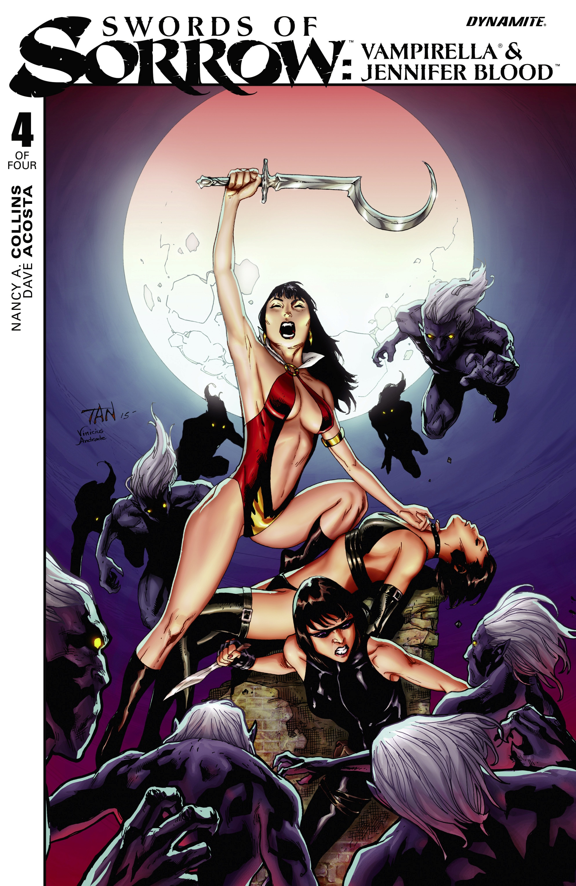 Swords of Sorrow: Vampirella & Jennifer Blood  issue 4 - Page 1
