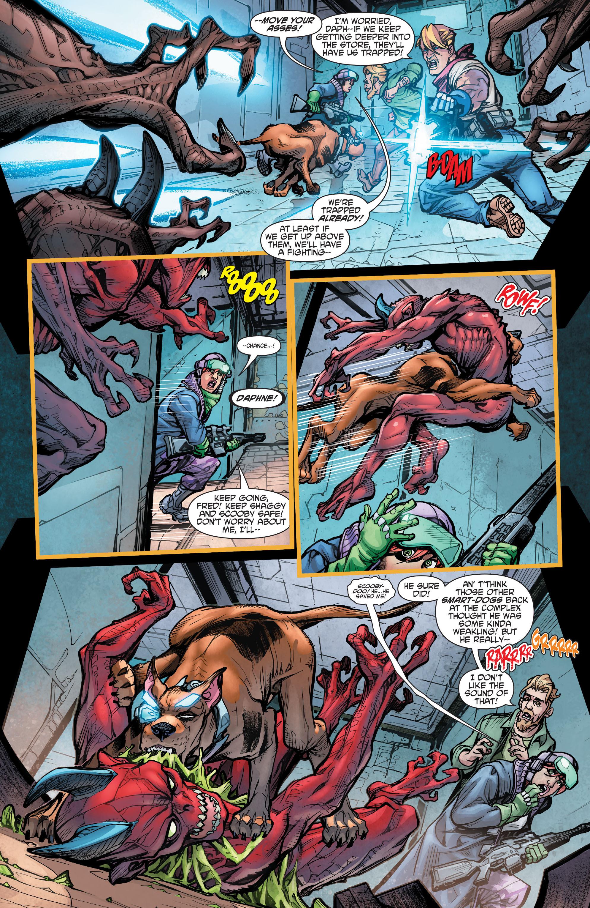 Read online Scooby Apocalypse comic -  Issue #5 - 9
