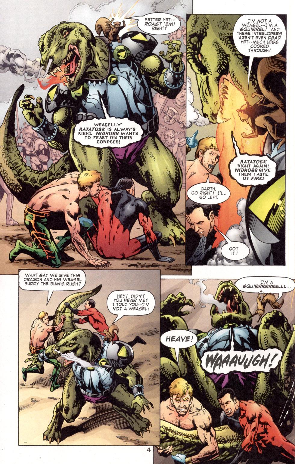 Aquaman (2003) Issue #7 #7 - English 6