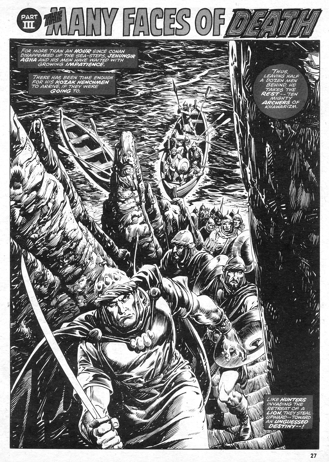 The Savage Sword Of Conan Issue #15 #16 - English 27