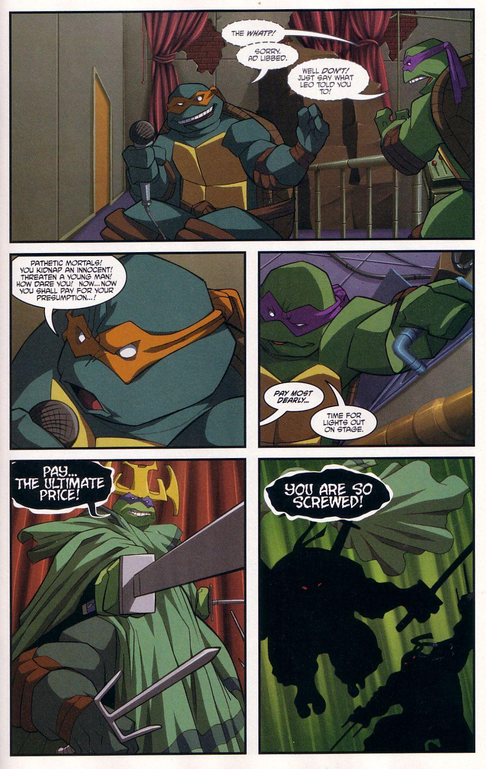 Teenage Mutant Ninja Turtles (2003) chap 7 pic 21