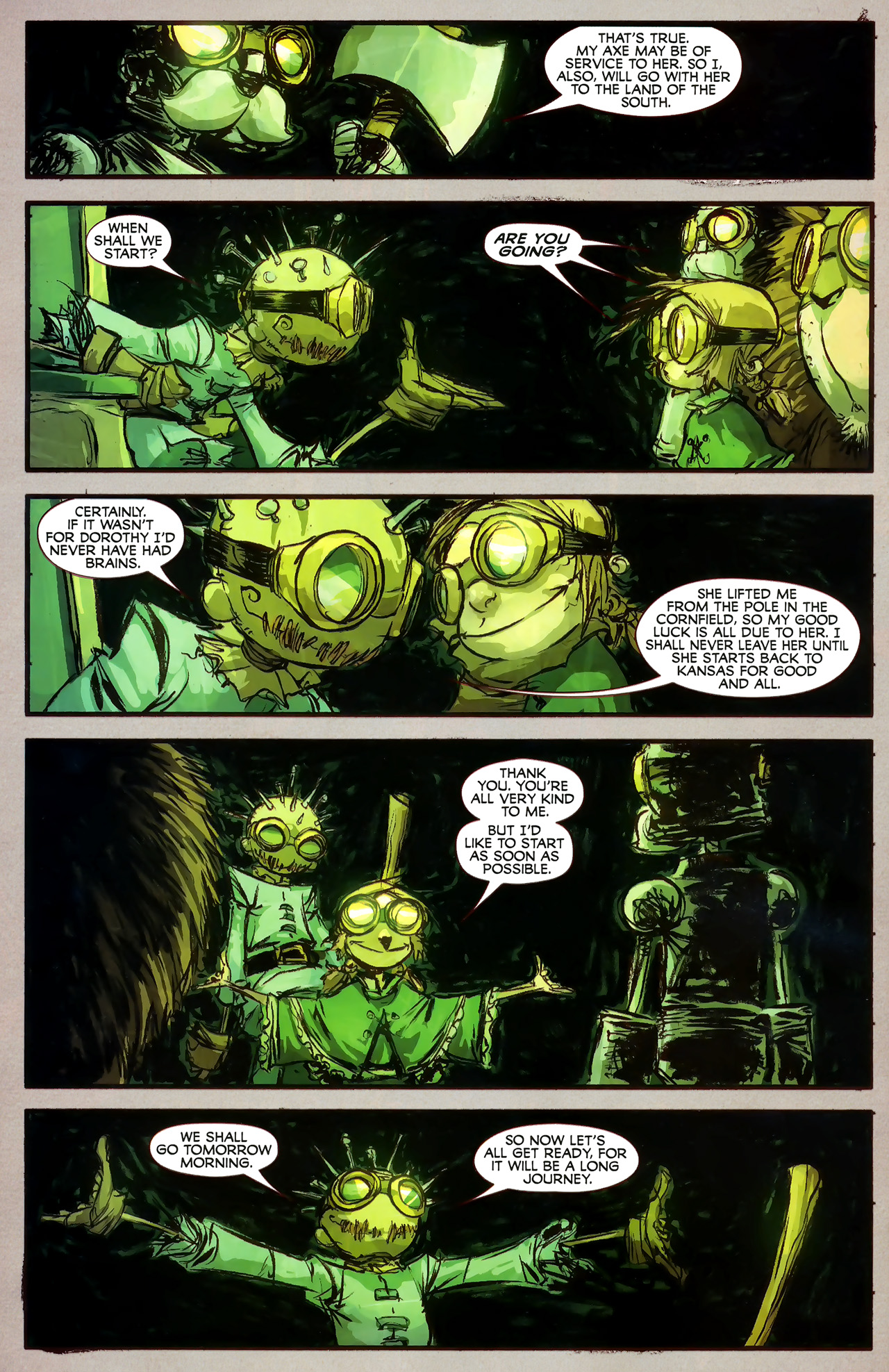Read online The Wonderful Wizard of Oz comic -  Issue #7 - 18