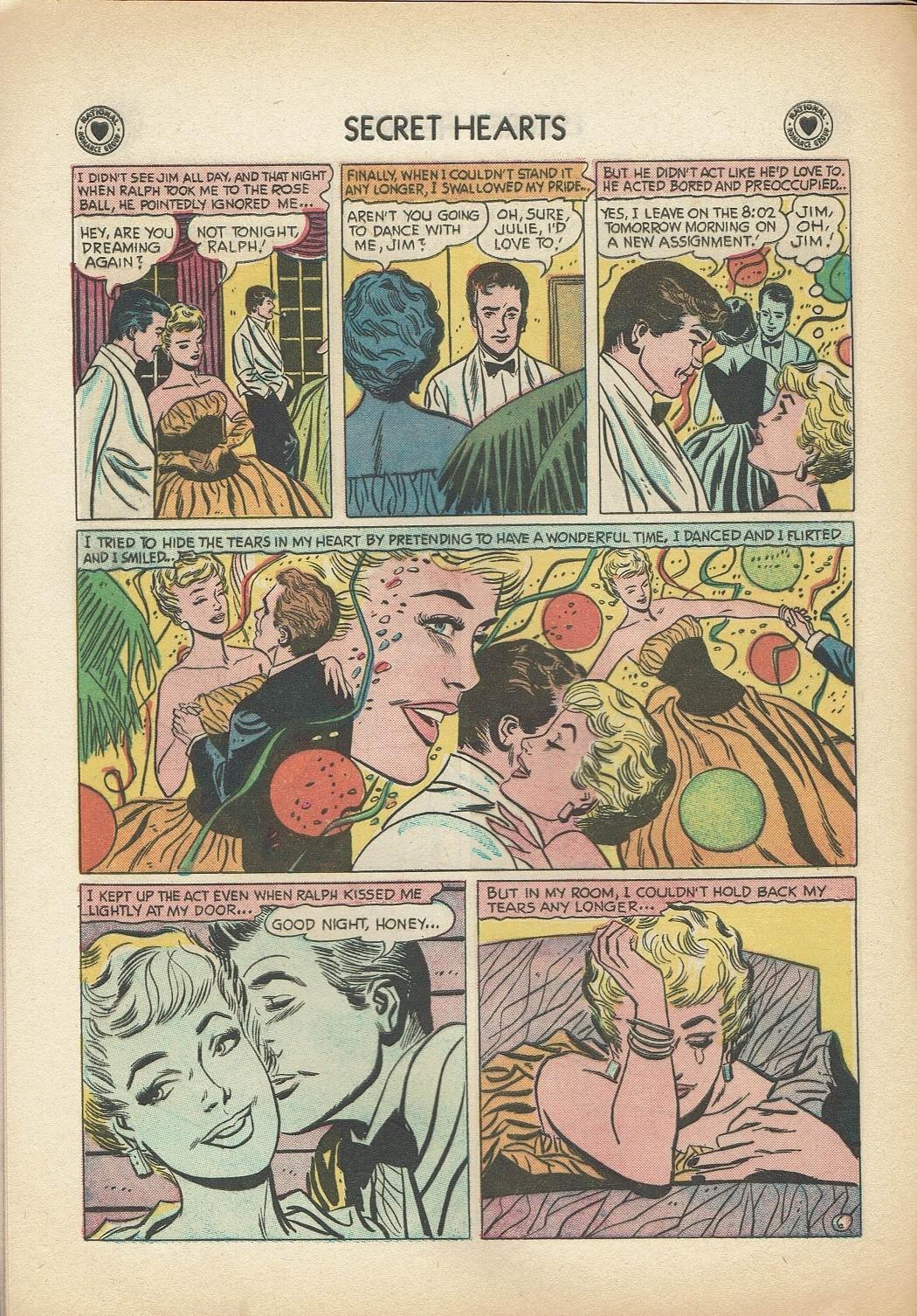 Read online Secret Hearts comic -  Issue #47 - 8