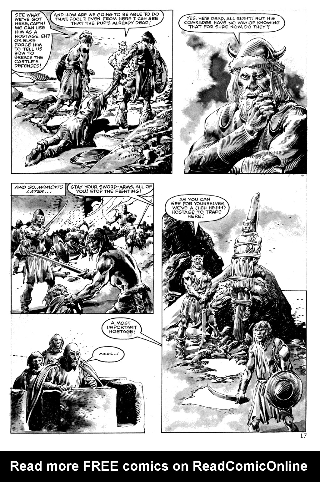The Savage Sword Of Conan Issue #101 #102 - English 17