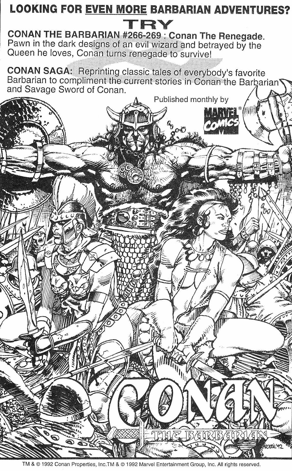 The Savage Sword Of Conan Issue #210 #211 - English 65