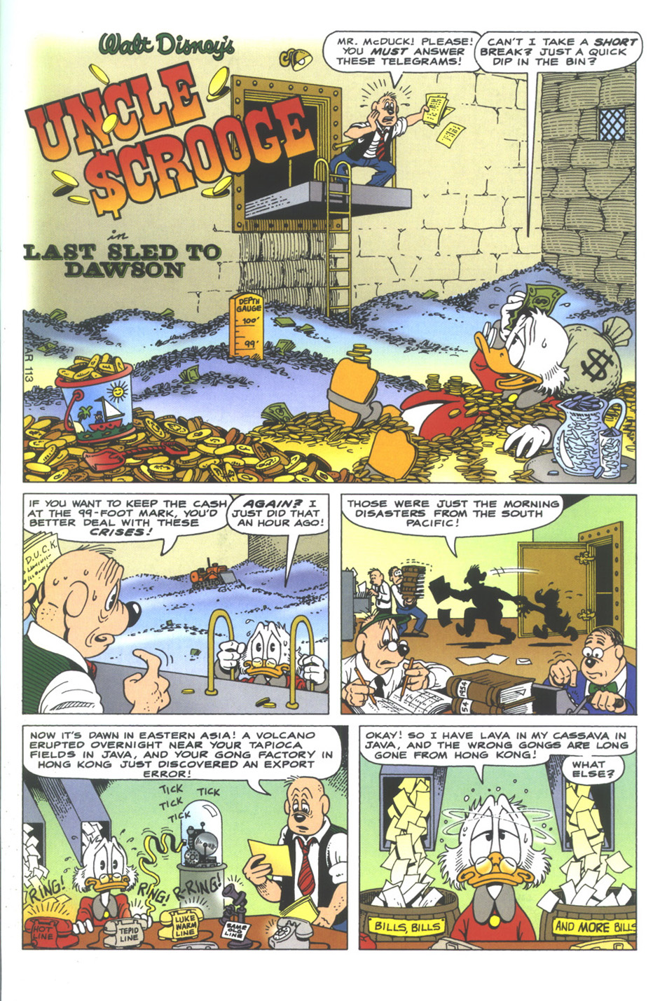 Uncle Scrooge (1953) Issue #350 #350 - English 3