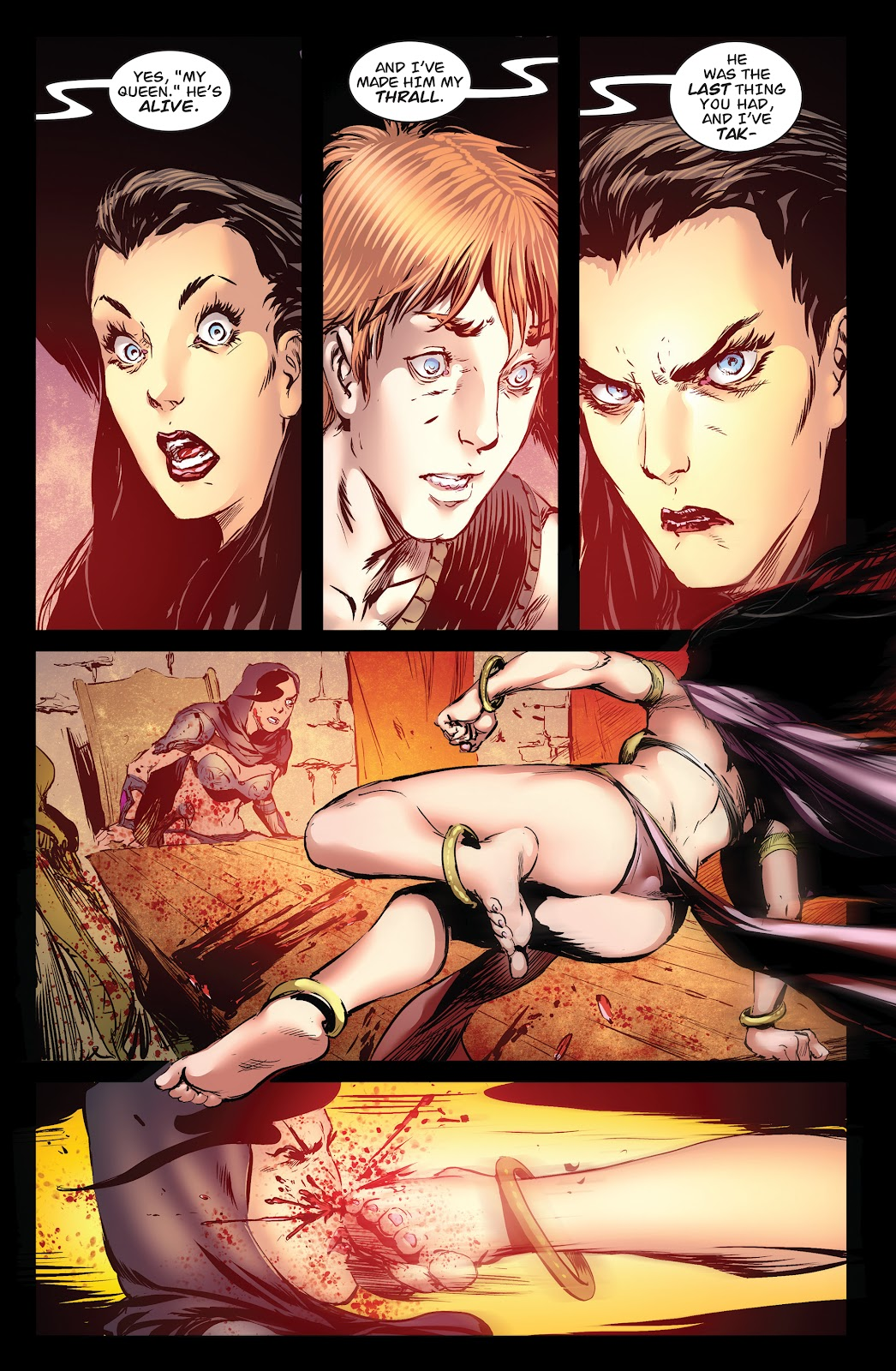Queen of Vampires Issue #7 #7 - English 21