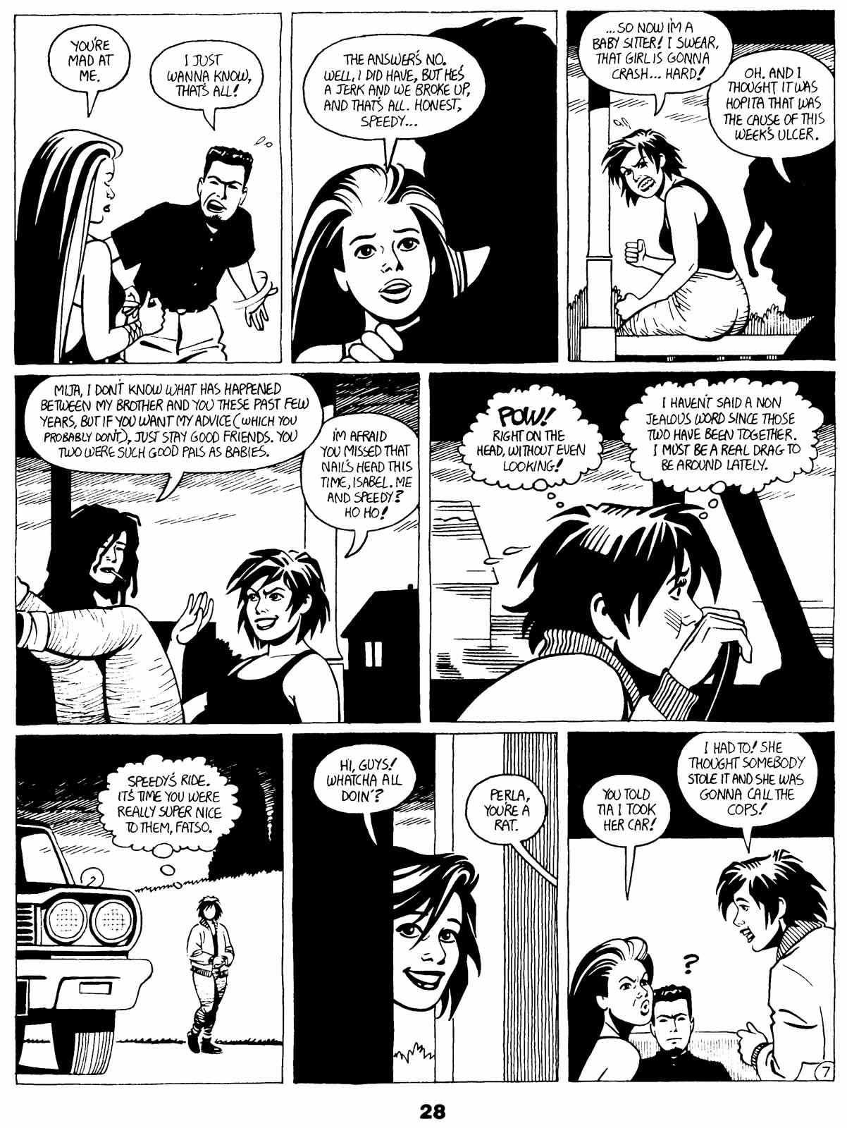 Love and Rockets (1982) Issue #21 #20 - English 30