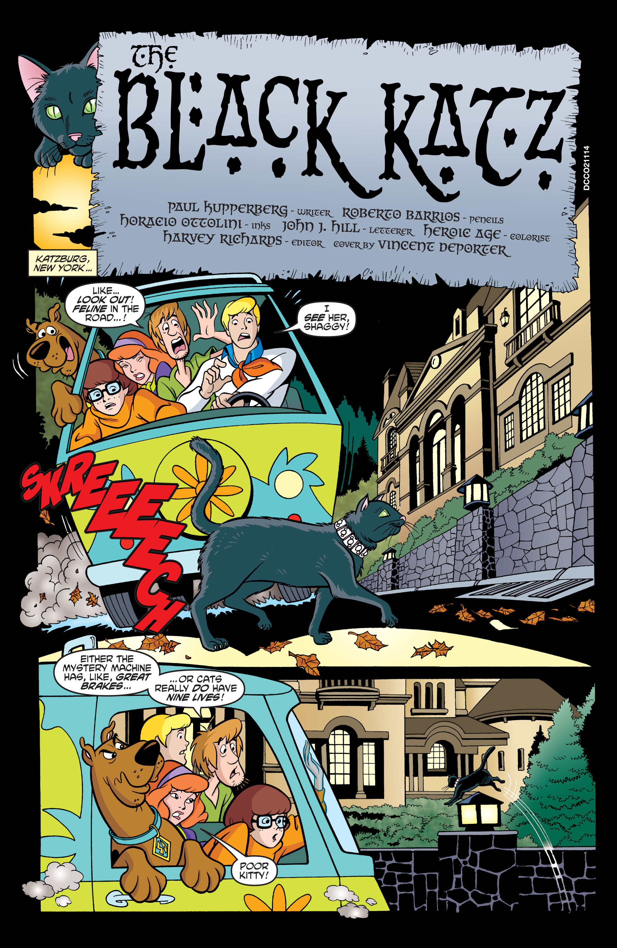 Read online Scooby-Doo: Where Are You? comic -  Issue #63 - 12