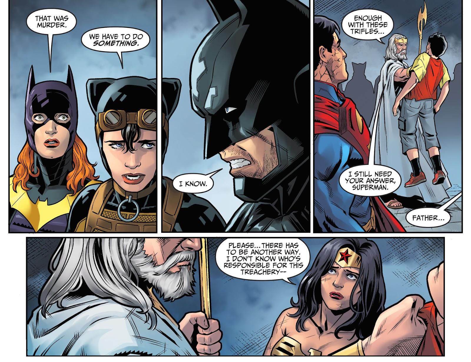Injustice: Gods Among Us Year Four Issue #15 #16 - English 11