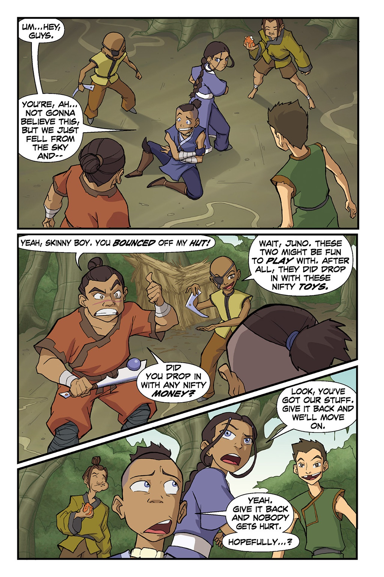 Nickelodeon Avatar: The Last Airbender - The Lost Adventures chap full pic 67