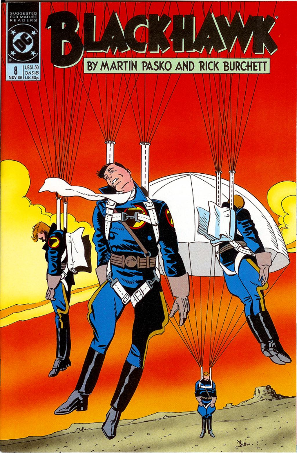Blackhawk (1989) 8 Page 1