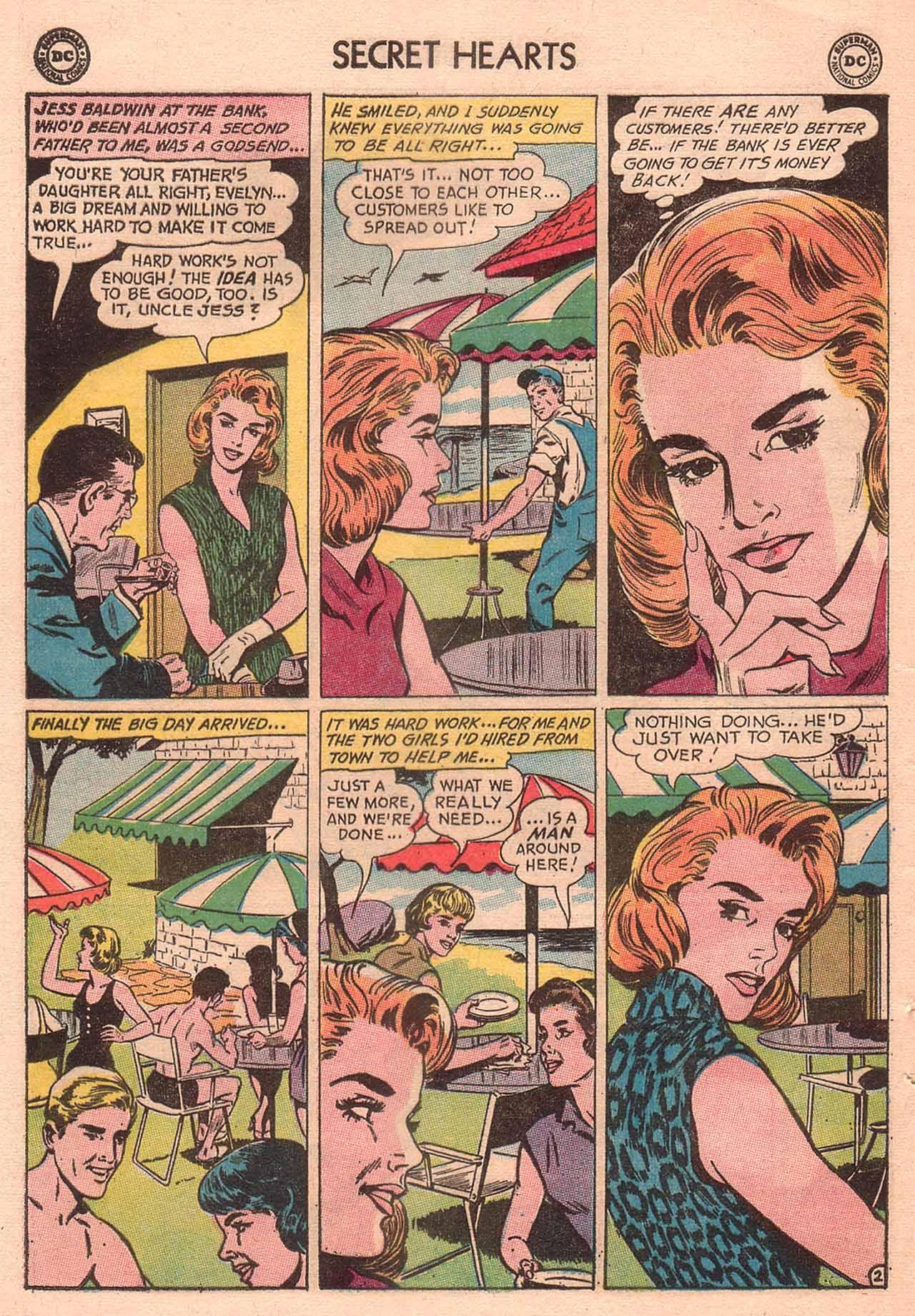 Read online Secret Hearts comic -  Issue #94 - 12