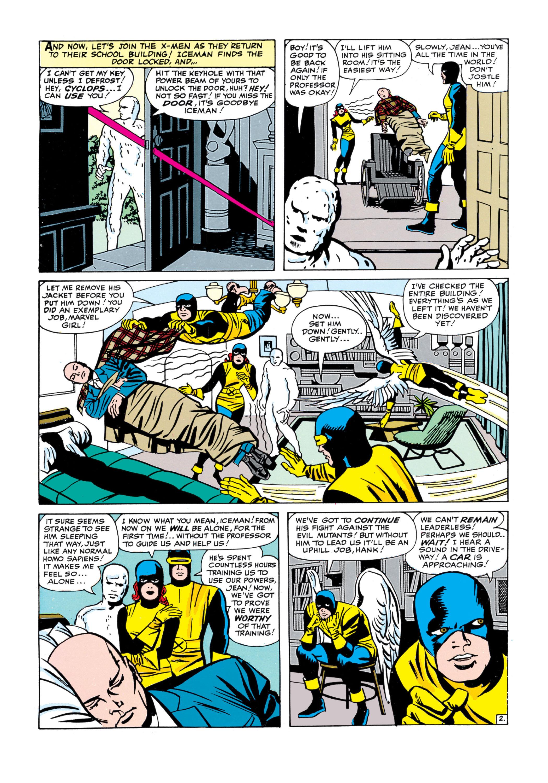 Uncanny X-Men (1963) 5 Page 2