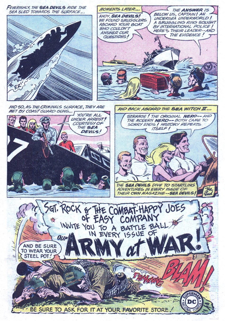 Read online Sea Devils comic -  Issue #3 - 16