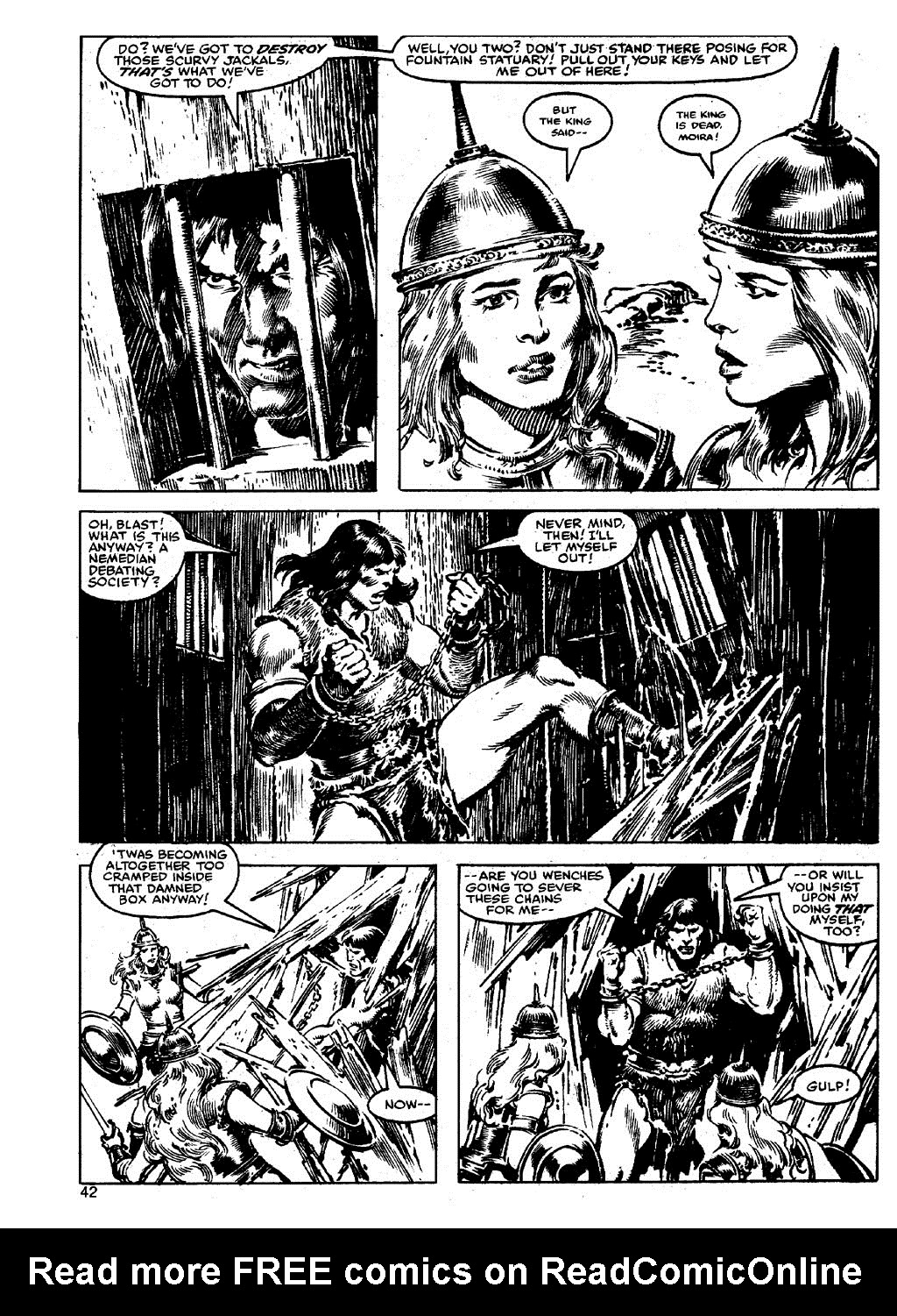 The Savage Sword Of Conan Issue #90 #91 - English 41