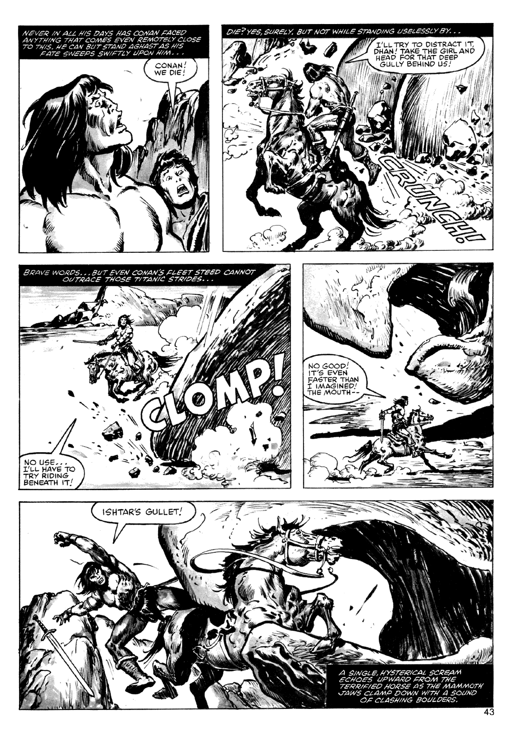 The Savage Sword Of Conan Issue #72 #73 - English 43