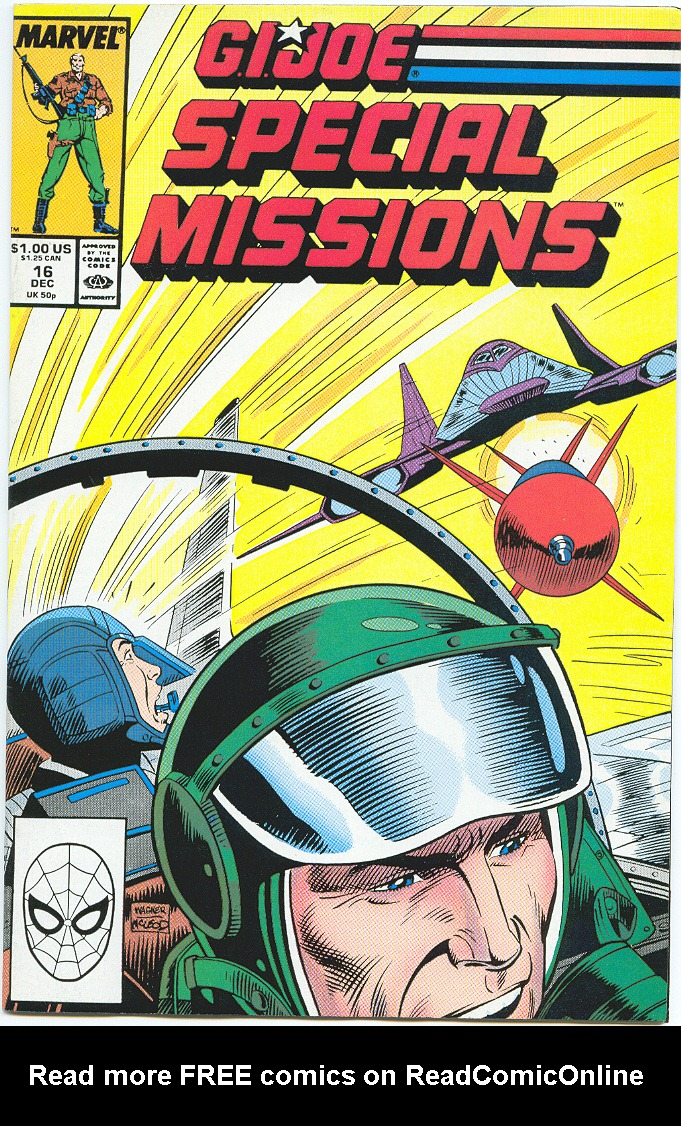 G.I. Joe Special Missions 16 Page 1