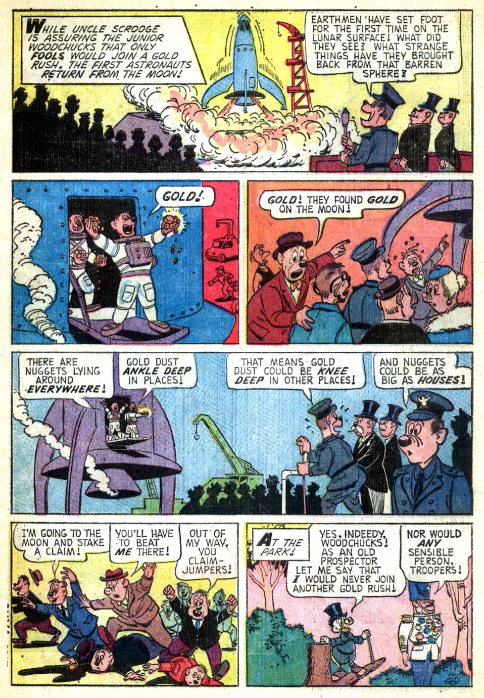 Uncle Scrooge (1953) Issue #49 #49 - English 4