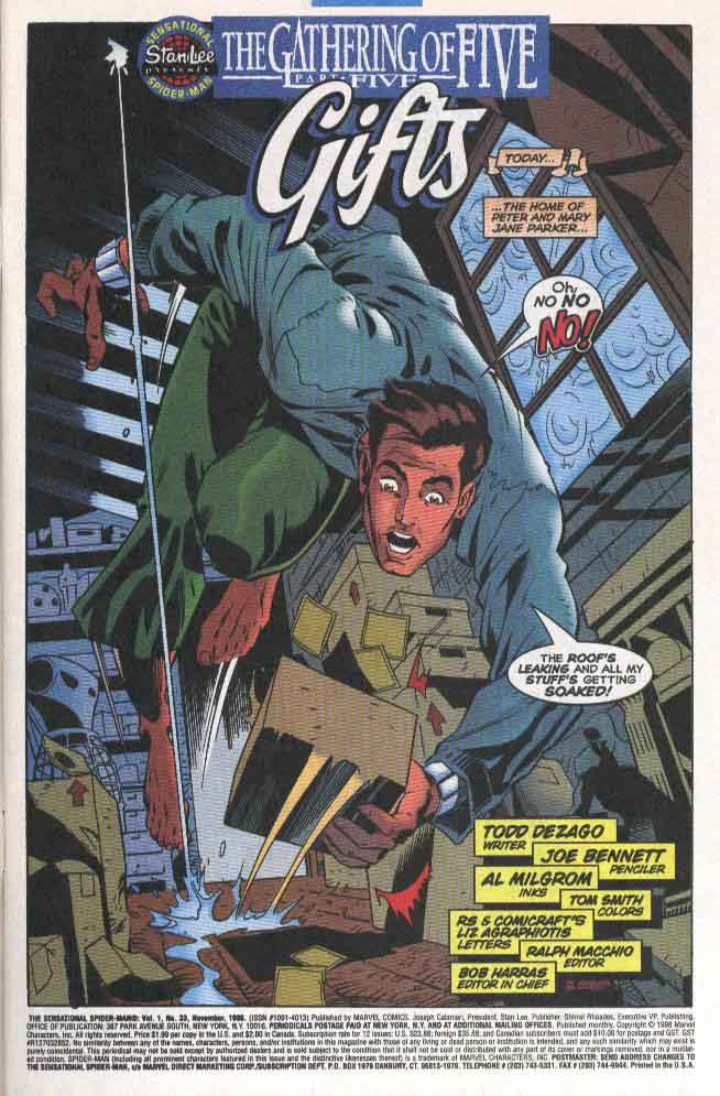 Read online The Sensational Spider-Man (1996) comic -  Issue #33 - 4