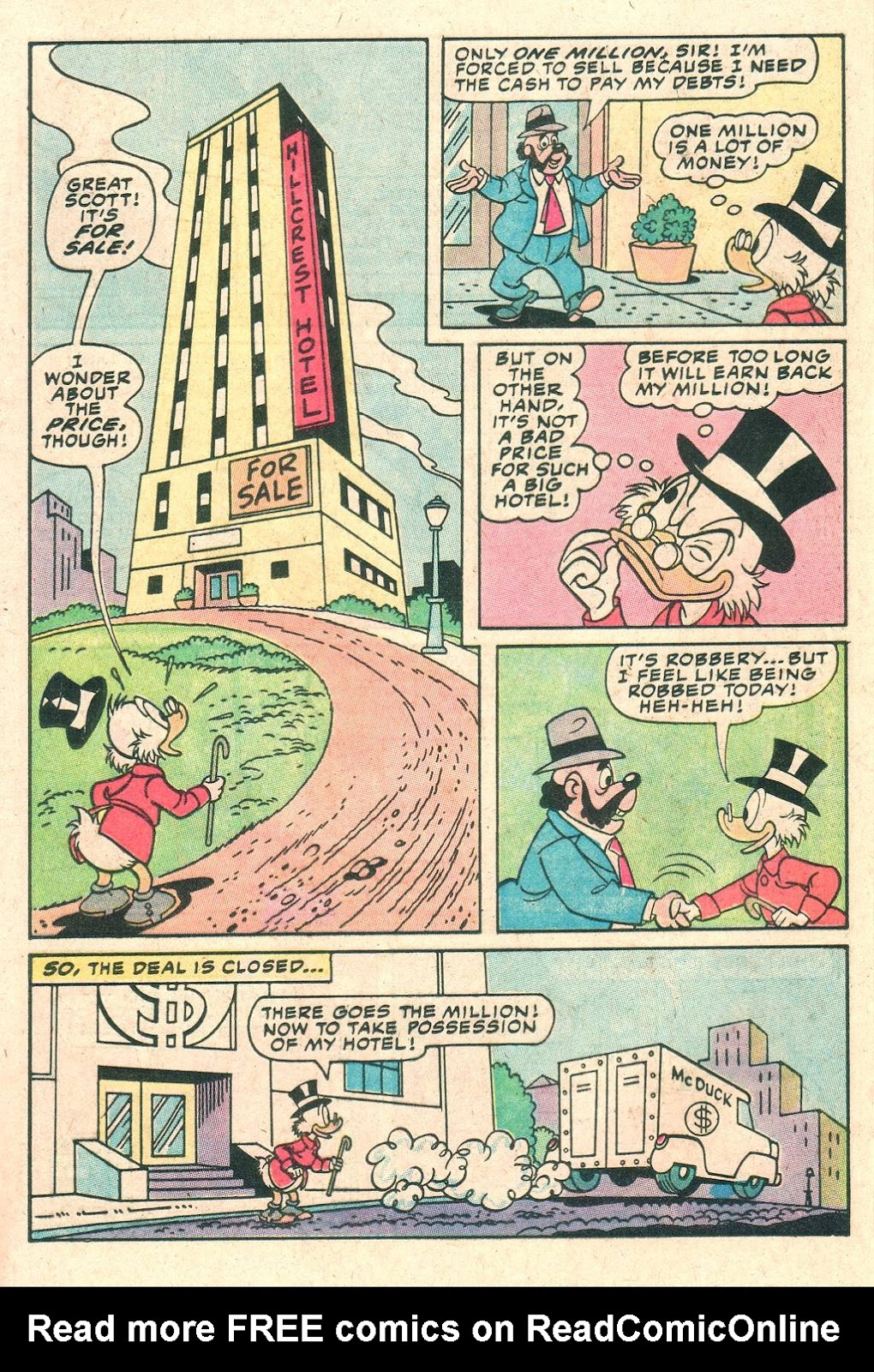 Uncle Scrooge (1953) Issue #205 #205 - English 20