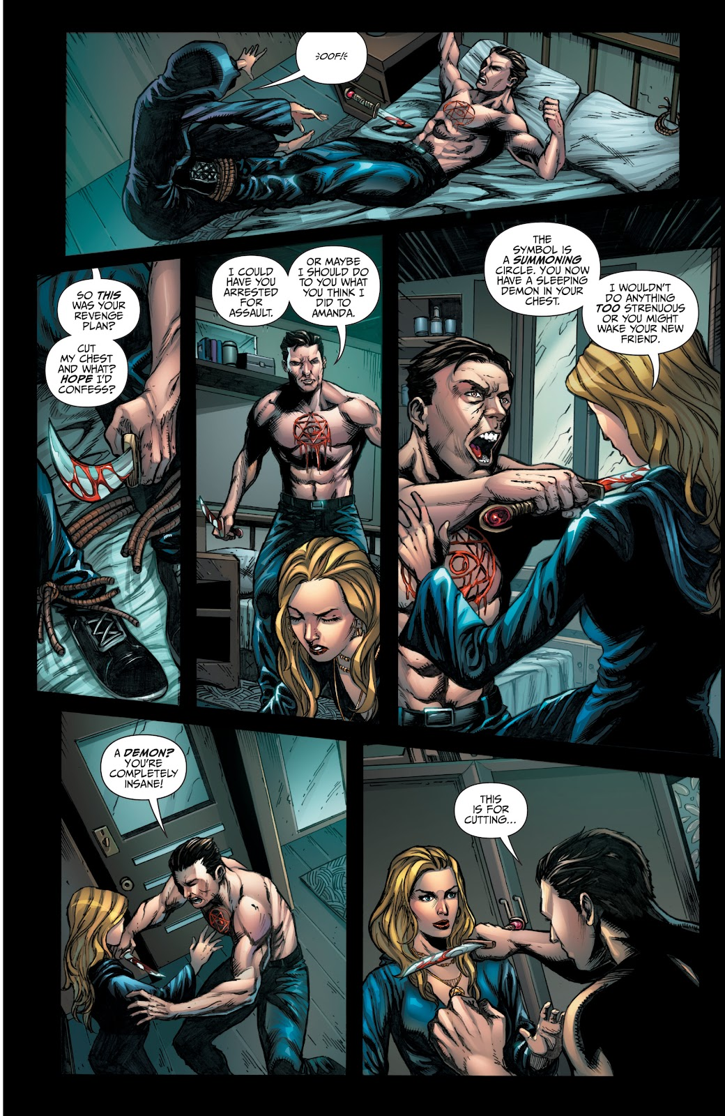 Grimm Fairy Tales (2005) _Special - Halloween Special #2 - English 37