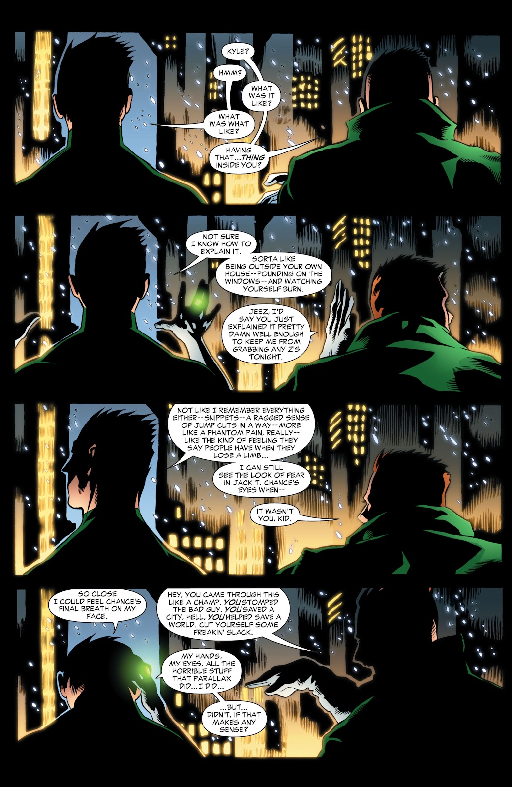 Green Lantern: The Sinestro Corps War Full #1 - English 301