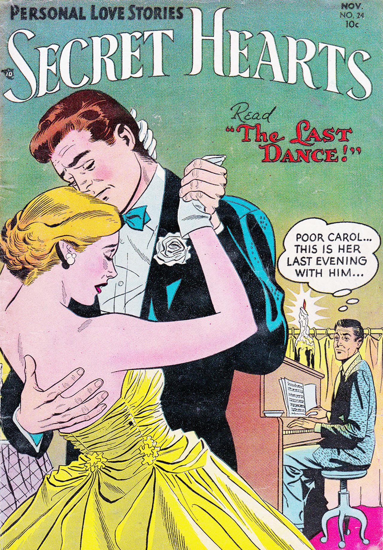 Read online Secret Hearts comic -  Issue #24 - 1