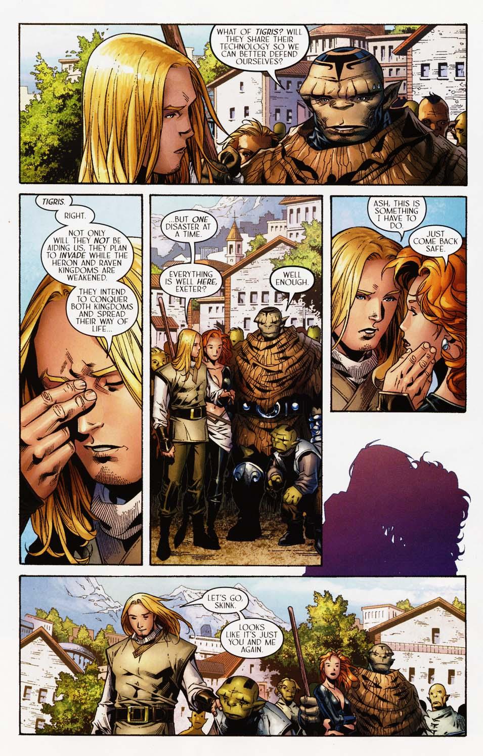 Read online Scion comic -  Issue #35 - 5
