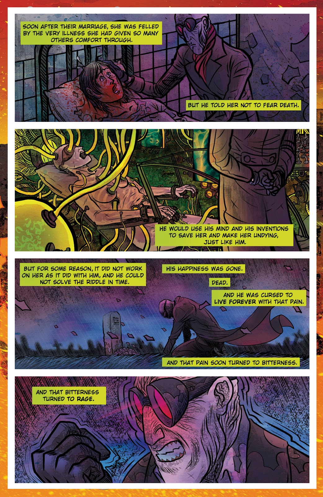 Read online Sherlock Frankenstein and the Legion of Evil comic -  Issue #4 - 5