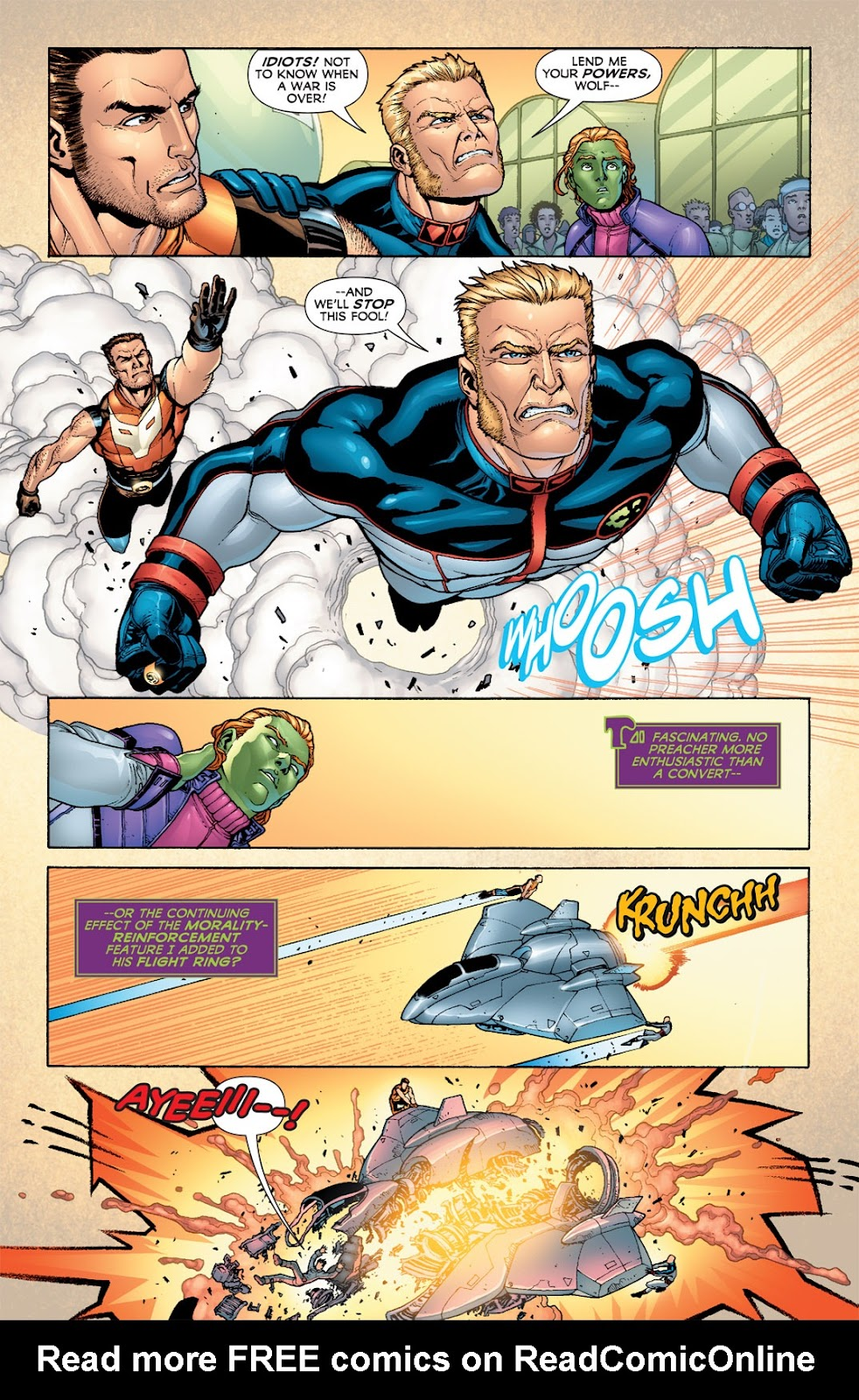Legion of Super-Heroes (2010) Issue #6 #7 - English 9