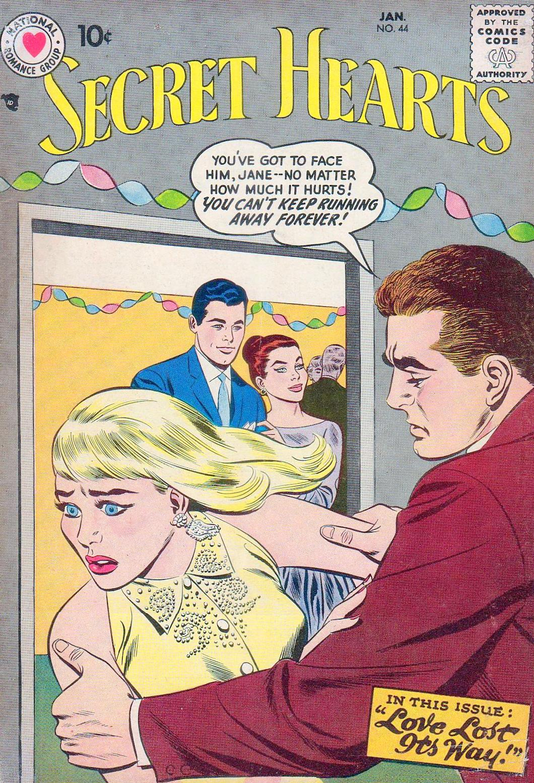 Read online Secret Hearts comic -  Issue #44 - 1