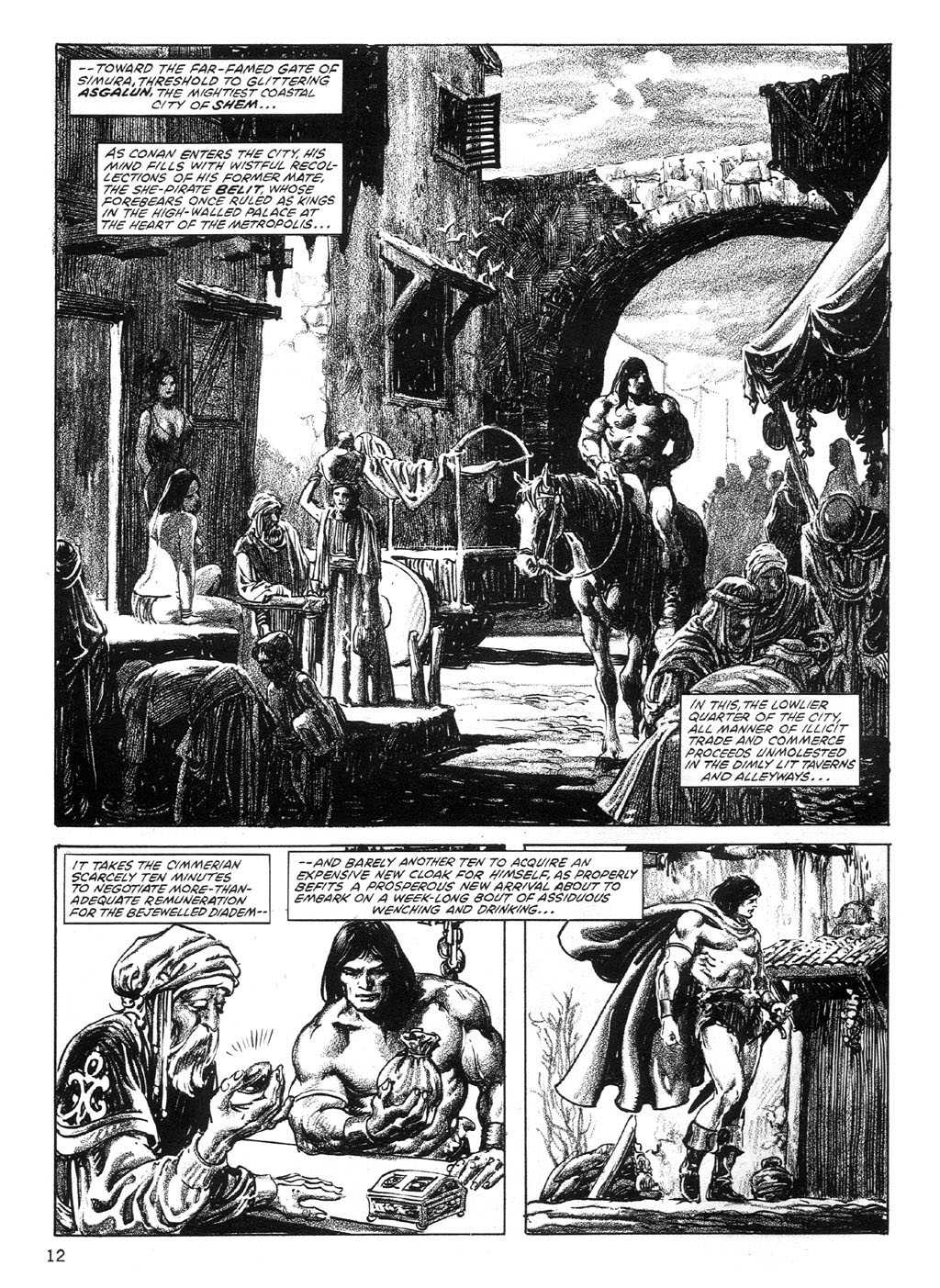 The Savage Sword Of Conan Issue #89 #90 - English 12