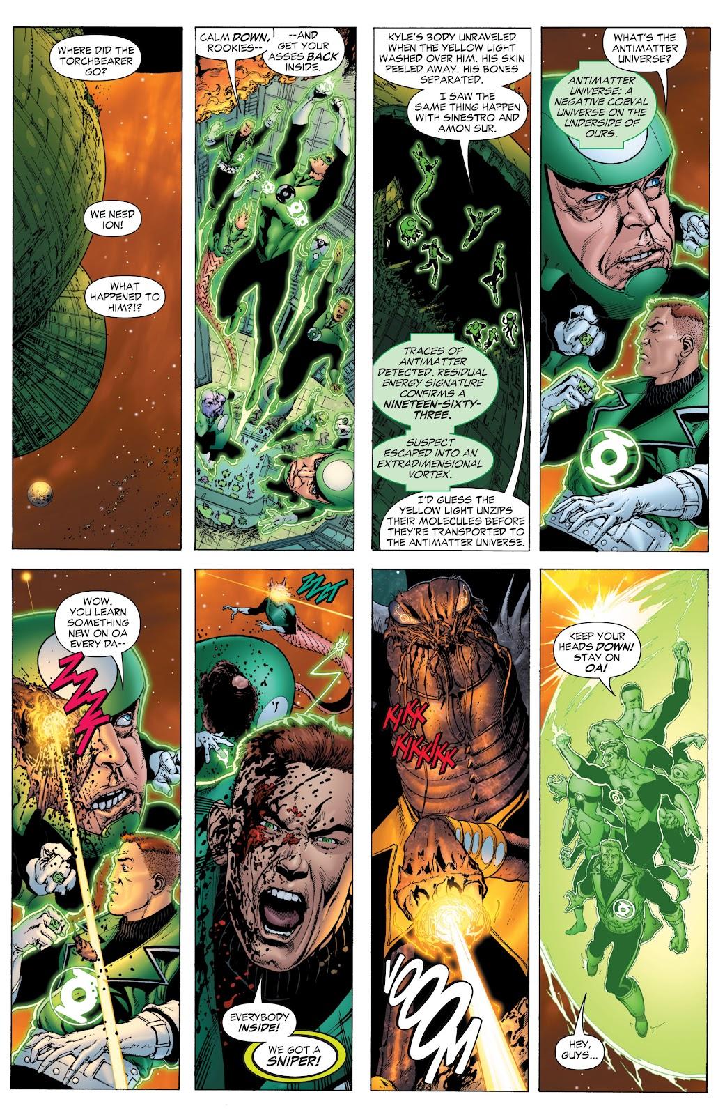 Green Lantern: The Sinestro Corps War Full #1 - English 34