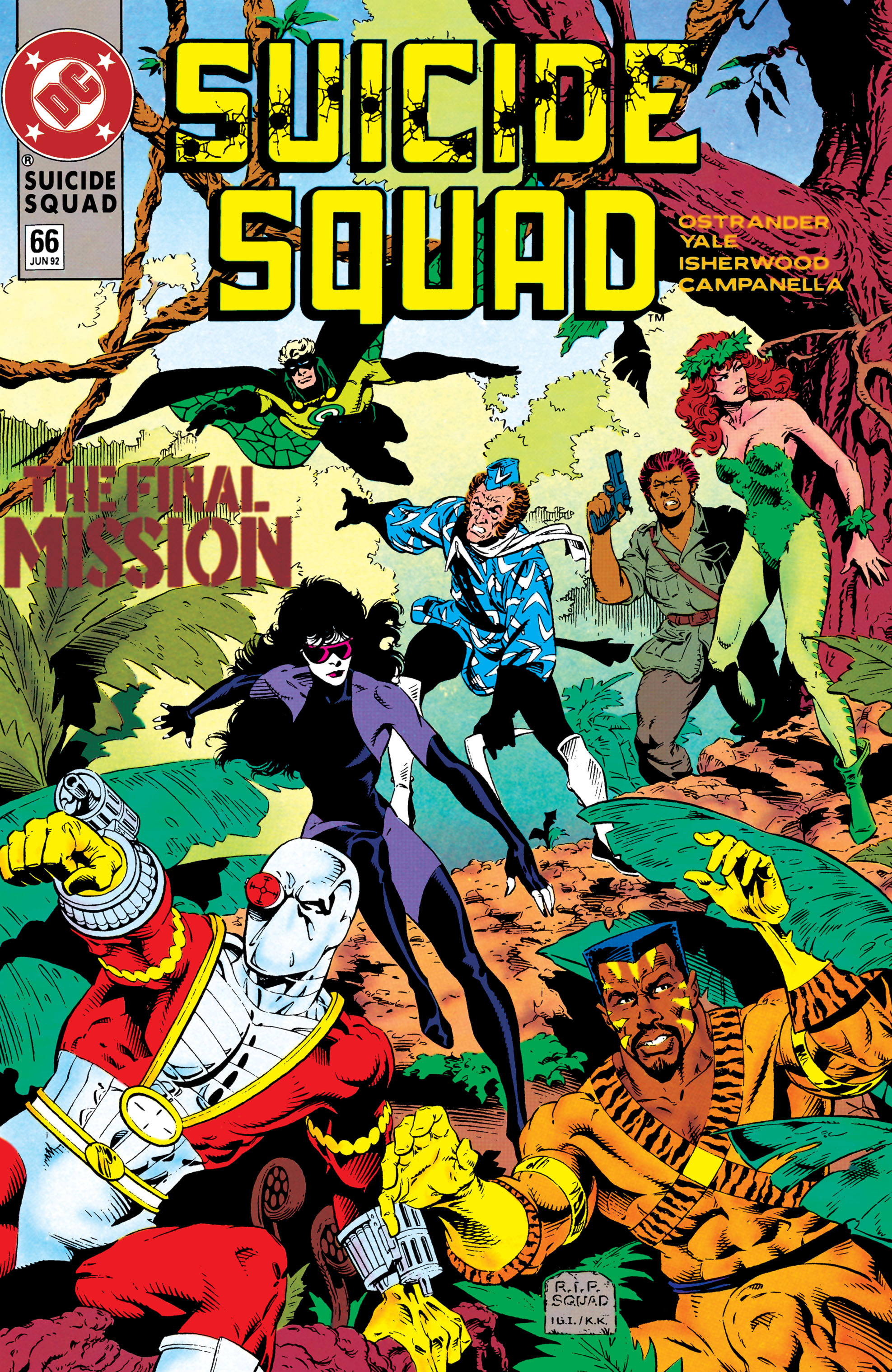 Read online Suicide Squad (1987) comic -  Issue #66 - 1