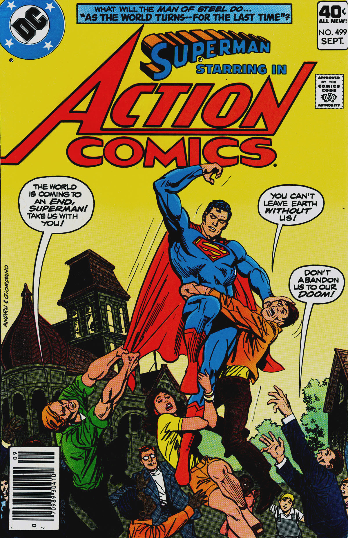 Action Comics (1938) 499 Page 1