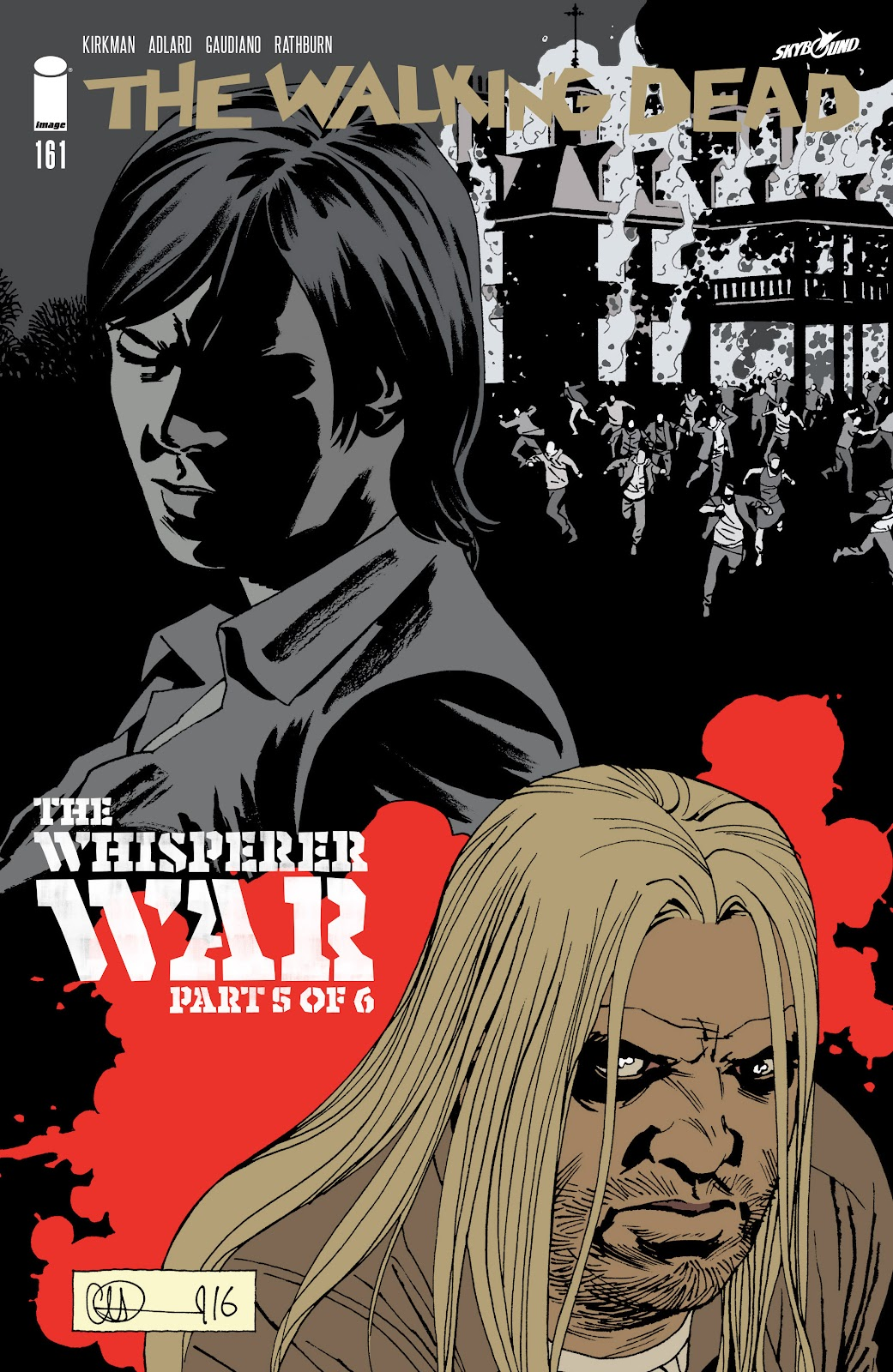 The Walking Dead Issue #161 Page 1