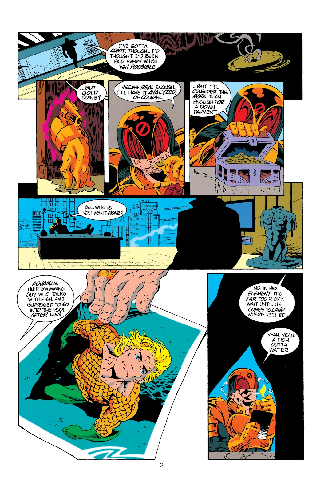 Aquaman (1994) Issue #9 #15 - English 3