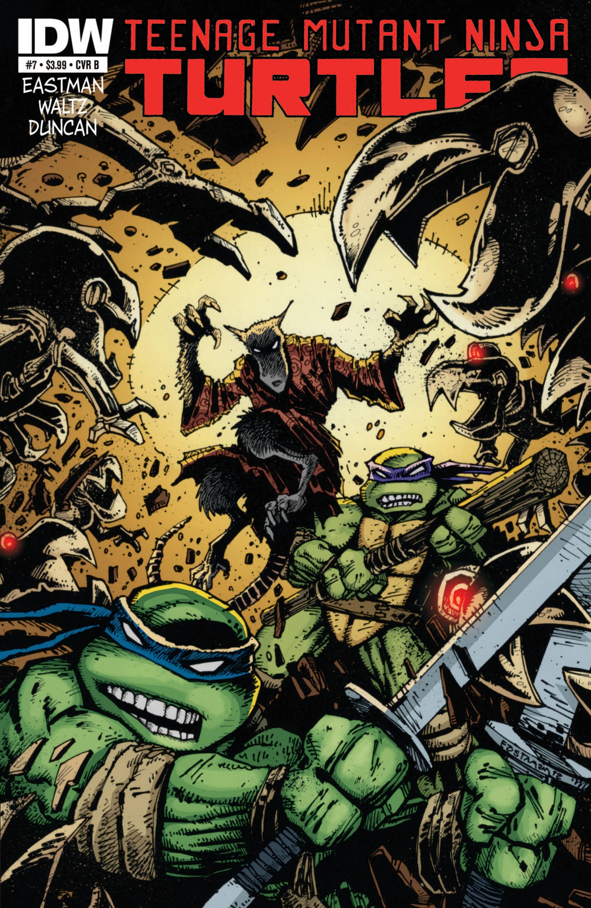 Teenage Mutant Ninja Turtles (2011) 7 Page 2