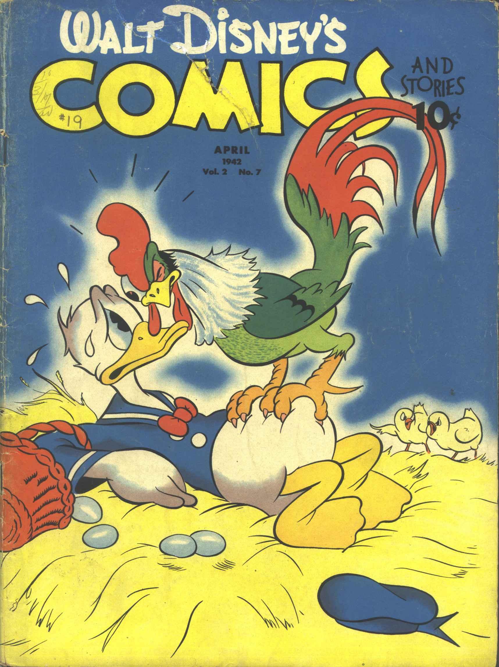 Walt Disneys Comics and Stories 19 Page 1