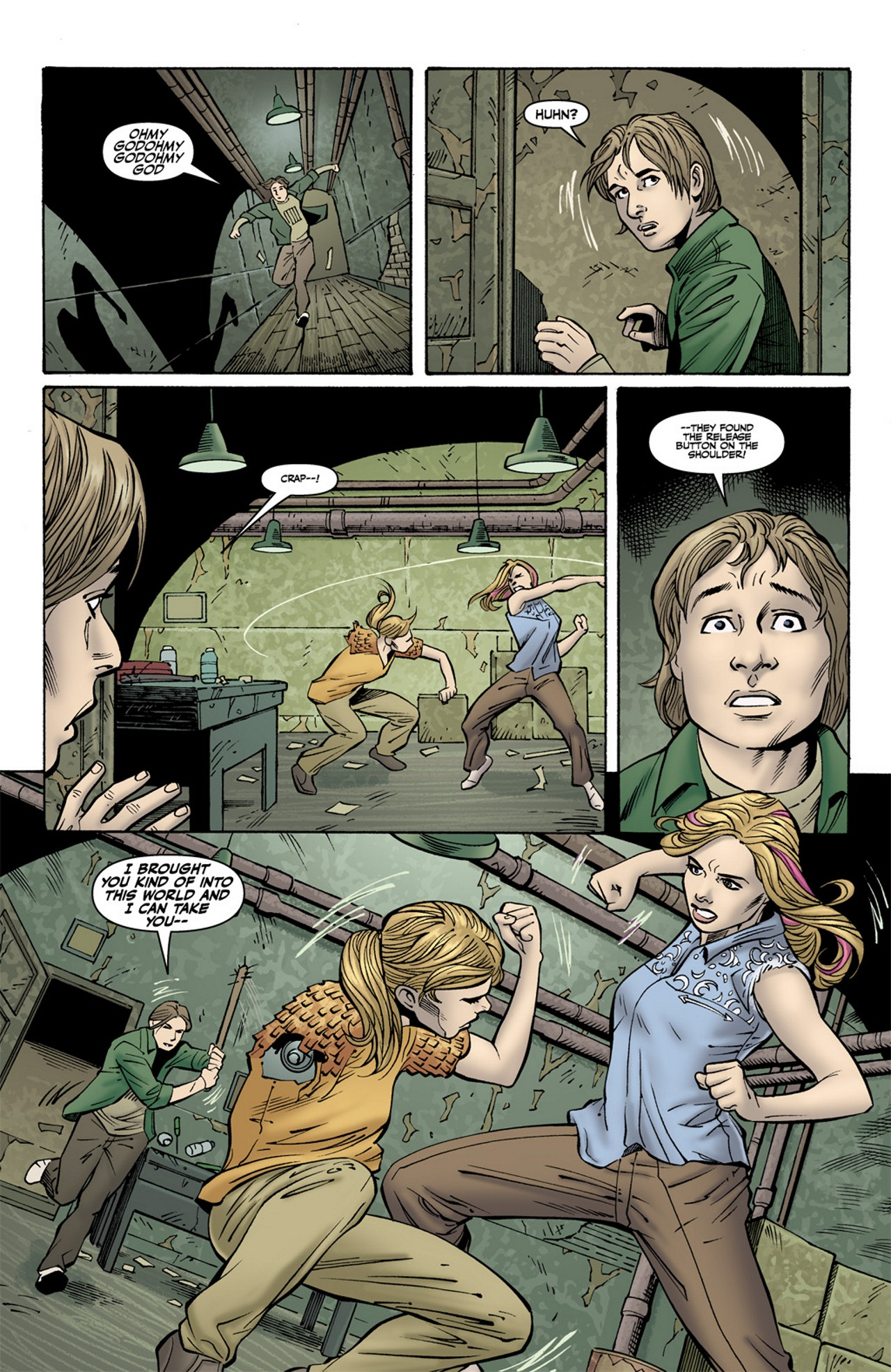 Read online Buffy the Vampire Slayer Season Nine comic -  Issue #10 - 14